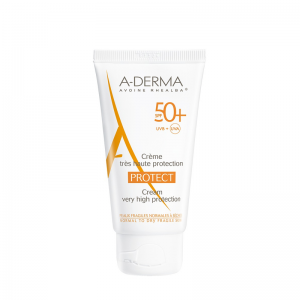 A - Derma Protect Creme Tres Haute Protection SPF50+ Αντηλιακή Κρέμα Προσώπου Πολύ Υψηλής Προστασίας για Κανονικές προς Ξηρές Επιδερμίδες, 40ml