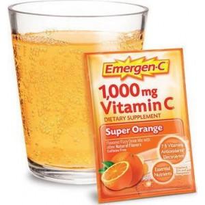 Emergen C Αναβράζουσα Βιταμίνη C 1000mg με Γεύση Πορτοκάλι, 10 φακελάκια