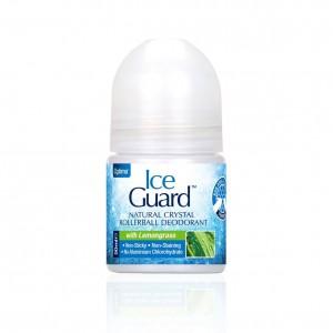 Ice Guard Rollerball Lemongrass Αποσμητικός Κρύσταλλος σε Roll On με Άρωμα Λεμονόχορτο, 50ml