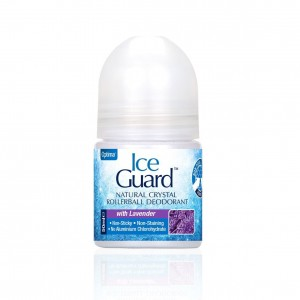 Ice Guard Rollerball Levander Αποσμητικός Κρύσταλλος σε Roll On με Άρωμα Λεβάντας, 50ml