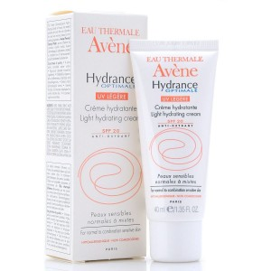 Avene Hydrance Optimale UV Legere SPF 20( κρεμα Ενυδατωσης με αντιηλιακο )40ml