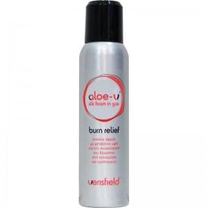 Aloe-v silk foam in gas 150ml.Aφρός για ανακούφιση και ενυδάτωση μετά από έκθεση στον ήλιο ή δερματικό έγκαυμα.