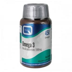 Quest Omega 3 (fish oil concetrate) 1000 mg 45 caps