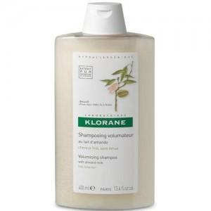 Klorane Shampoo Lait D Amande Σαμπουάν με γαλάκτωμα αμυγδάλου για λεπτά μαλλιά που χρειάζονται όγκο 400ml