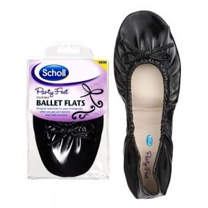 DR. Scholl Pocket Ballerina  Χρώμα Μαύρο no 35/36