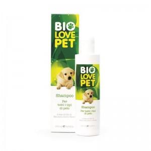 Bio Love Pet Shampoo for all types 250ml,Σαμπουάν για όλους τους τύπους με βιολογικά συστατικά