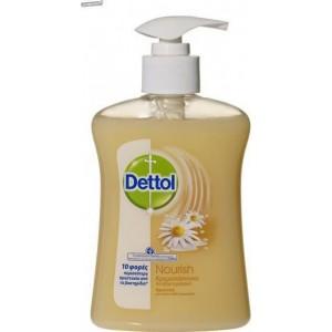 Dettol - Αντιβακτηριδιακό θρεπτικό κρεμοσάπουνο με Cotton milk & Χαμομήλι - 250ml