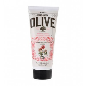 Korres Pure Greek Olive Body Milk Verbena Ενυδατικό Γαλάκτωμα με Άρωμα Λουίζας, 200ml