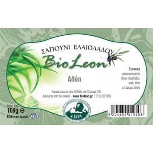 BioLeon Σαπούνι ελαιολάδου με αλόη 100gr