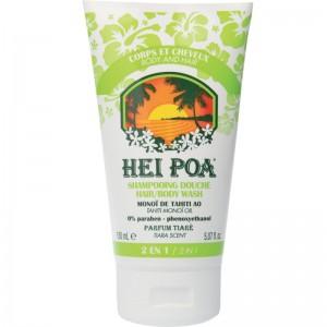 HEI POA 2 in 1 Hair/ Body Shower Tiare Ενυδατικό Σαμπουάν & Αφρόλουτρο με Λάδι Monoi (150ml)