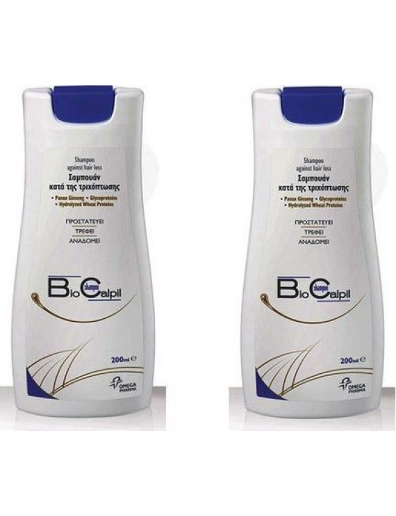 BioCalpil Shampoo 1+1 ΔΩΡΟ Κατά της Τριχόπτωσης 200ml