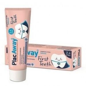 Plac Away First Teeth Παιδική Οδοντόκρεμα 2-6 ετών 50ml
