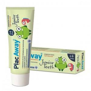 Plac Away Junior Teeth Παιδική Οδοντόκρεμα 6+ετών 50ml