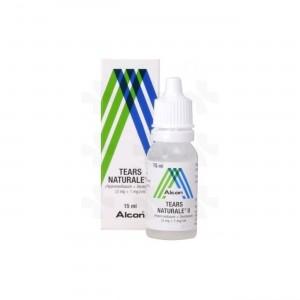 Alcon Tears Naturale II Οφθαλμικές Σταγόνες σε Διάλυμα, 15 ml