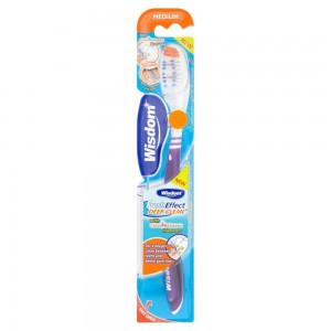 WISDOM FRESH EFFECT SOFT RIDGES EFFECTIVE DEEP CLEAN ANTI-BACTERIAL TOOTH BRUSH 1τμχ