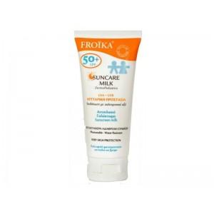 FROIKA - Suncare Milk DermoPediatrics SPF50+ Αντηλιακό Γαλάκτωμα για Παιδιά & Βρέφη - 100ml