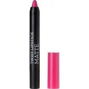 Korres Rasberry Lipstick Matte Dazzling Fuchsia Ματ Κραγιόν σε Πρακτική Συσκευασία Μολυβιού, Απόχρωση Φούξια, 1.5ml