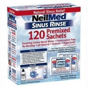 NeilMed Sinus Rinse 120 Refill Mixture Sachets