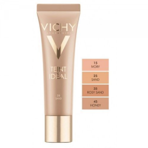 Vichy Teint Ideal Illuminating Foundation Dore 45 Cream Για ξηρή επιδερμίδα με SPF 20 30ml