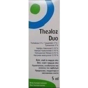 Thea Thealoz Duo col, Λιπαντικό & Αναπλαστικό Κολλύριο 5ml