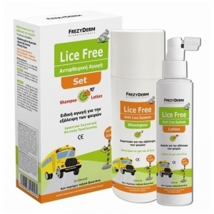Frezyderm Lice free (Set 2x125ml ) Ειδικη αγωγη για την εξαλειψη των Ψειρων