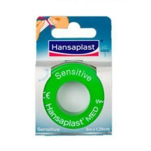 Hansaplast Sensitive Tape Υποαλλεργική 1,25cmx5m