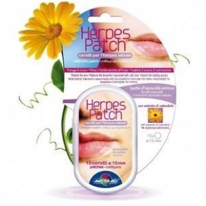 Master Aid Herpes Patch 15τεμ. Υδροκολλοειδές επίθεμα για την θεραπεία του έρπη