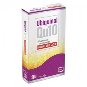 Quest Ubiquinol Qu10 100mg 30tabs