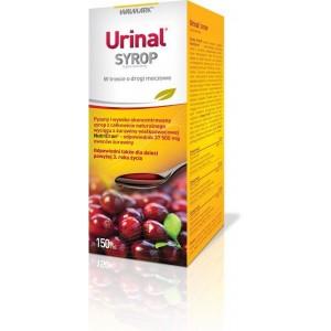 Urinal Syrup Συμπλήρωμα Διατροφής με Cranberry σε Σιρόπι για την Καλή Υγεία του Ουροποιητικού, 150 ml