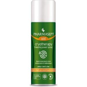 Pharmasept Tol Velvet Cryotherapy Freezing Power Spray, Τοπικό Αναλγητικό Spray με Εκχυλίσματα Βοτάνων 150ml