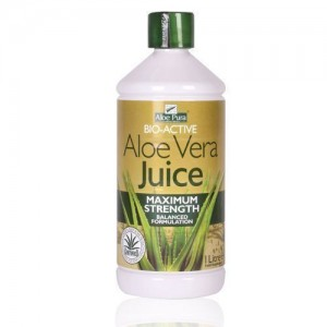 Optima Health 100% Organic Aloe Pura Aloe Vera Juice Maximum Strength Juice 1L