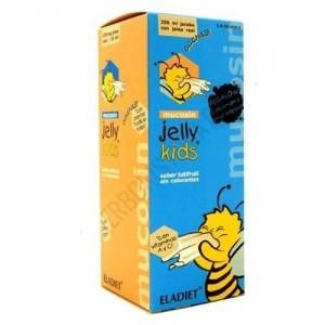 ELADIET Jelly Kids Mucosin Συμπλήρωμα Διατροφής - Σιρόπι Βασιλικού Πολτού 250ml
