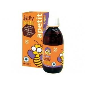 Eladiet Jelly Kids Apetit Παιδικό Σιρόπι για την αύξηση της όρεξης & την ενίσχυση του ανοσοποιητικού, με γεύση φράουλα, 150ml