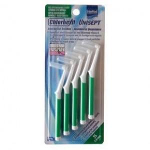 INTERMED Chlorhexil Interdental Brushes SS 0,8mm 5 τμχ