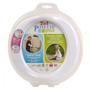 Babywise Potette Plus Travel* ταξιδιωτικό γιογιό και τουαλέτα κάθισμα εκπαιδευτής 1τμχ