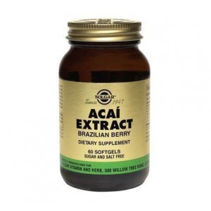SOLGAR Acai Extract (Brazilian Berry)60caps