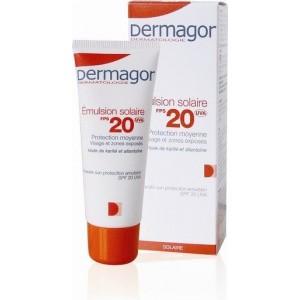 Dermagor Emulsion Solaire SPF20 40 ml