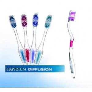 Elgydium Diffusion Medium* Οδοντόβουρτσα Μέτρια 1 Τεμάχιο