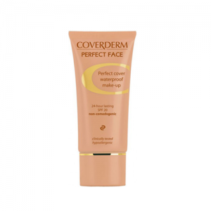 Coverderm Perfect Face 30ml no.1 αδιάβροχο make-up