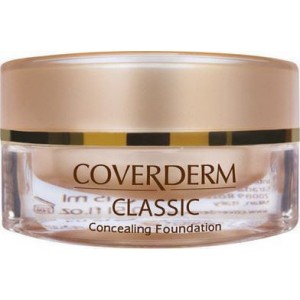 Coverderm Classic Concealing Foundation SPF30 no.1, 15ml