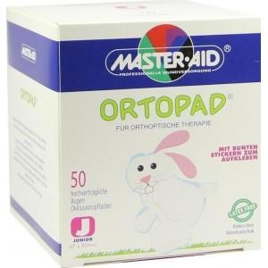 Ortopad Junior 67 x 50mm Οφθαλμικό Αυτοκόλλητο για Παιδιά 50 Τεμάχια