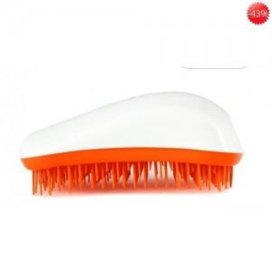 Dessata βούρτσα μαλλιών Λευκό-Πορτοκαλί*