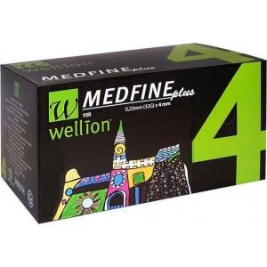 Wellion Medfine Lancets 32g x 4mm x 100 Tμχ