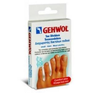Gehwol Toe Dividers Διαχωριστής δακτύλων ποδιού Small 3τμχ.