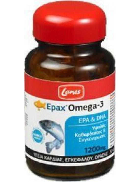Lanes EPAX Omega 3 Συμπλήρωμα Διατροφής 30 tabs