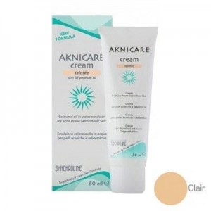 Synchroline Aknicare Cream Teintee Clair 50ml