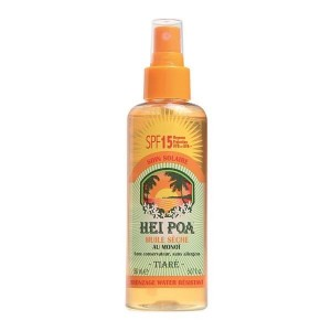 Hei Poa Monoi Oil Tiare Spray SPF15 150ml