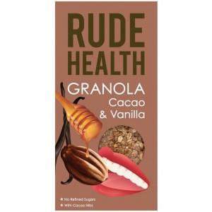 Rude Health Granola Κακάο & Βανίλια 450 gr
