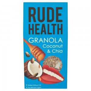 Rude Health Granola Καρύδα & Chia Οργανική 450 γρ