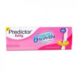 Predictor Early Digital, Ψηφιακό Τέστ Εγκυμοσύνης, δίνει απάντηση έως & 6 ημέρες νωρίτερα απο την πρώτη μέρα καθυστέρησης, 1 τεμάχιο